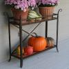 steel and copper plant stand