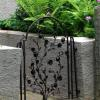 forged garden gate